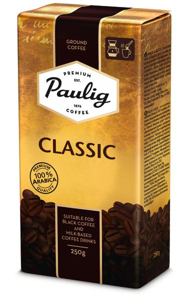 Paulig Classic 250g malta kafija