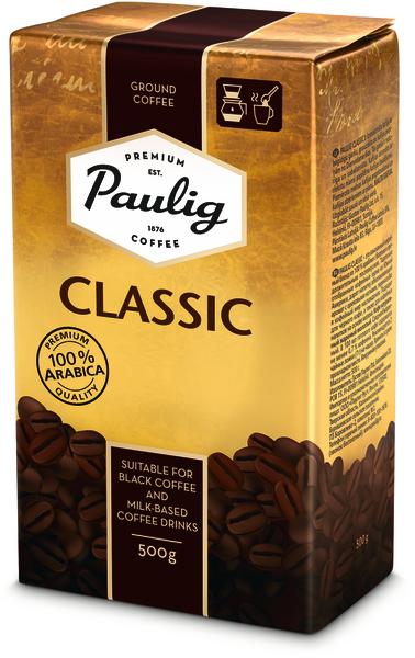 Paulig Classic 500g malta kafija