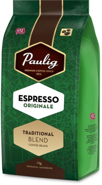 Paulig Espresso Originale 1kg kafijas pupiņas