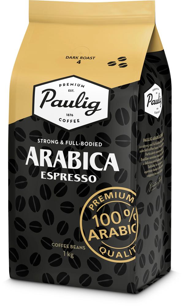 Paulig Arabica Espresso 1kg pupiņas