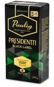 Paulig Presidentti Black Label 250g malta kafija
